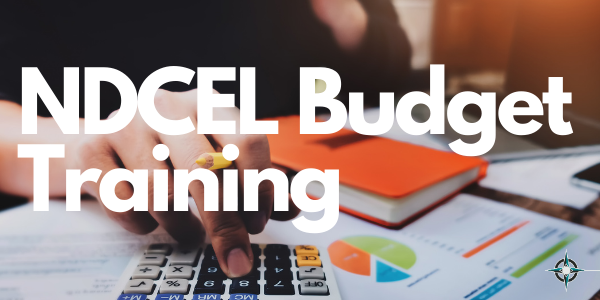 NDCEL Budget Training
