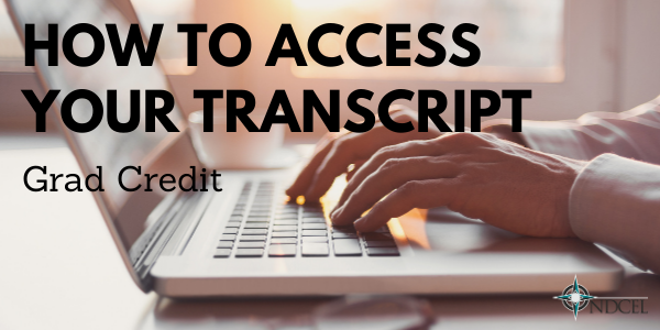 How to Access Your Transcript